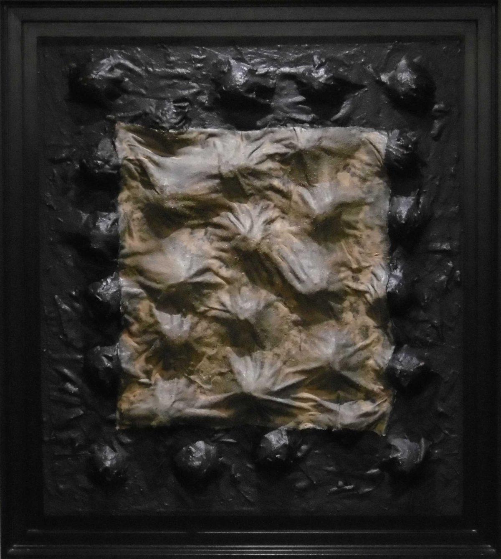 Afsceid, Materie Schilderij Wim Zorn Kunstenaar