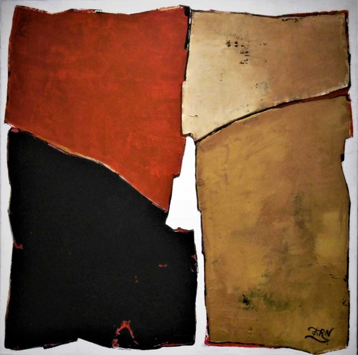 Chilida, Expressionistich Abstract, Wim Zorn Kunstenaar