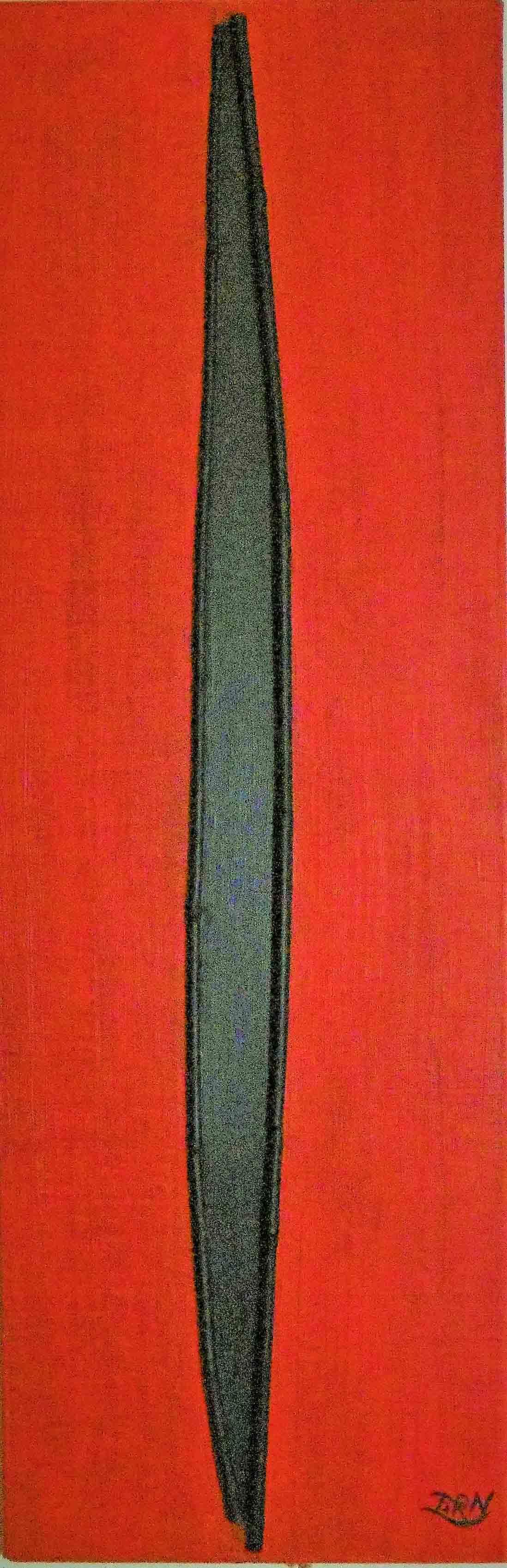 Verlangen. Bamboe-Reliëf, Wim Zorn Kunstenaar
